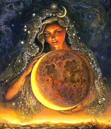 Медитация для лунных центров