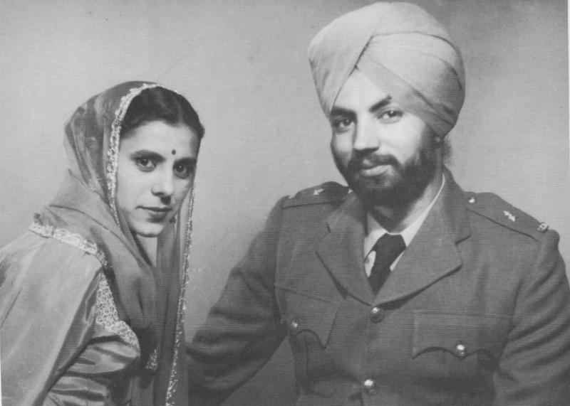 Йоги Бхаджан с женой